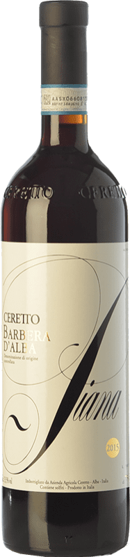 17,95 € Free Shipping | Red wine Ceretto Piana D.O.C. Barbera d'Alba Piemonte Italy Barbera Bottle 75 cl