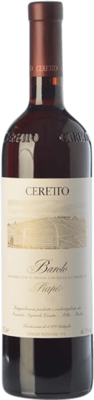 155,95 € Free Shipping | Red wine Ceretto Prapò D.O.C.G. Barolo Piemonte Italy Nebbiolo Bottle 75 cl