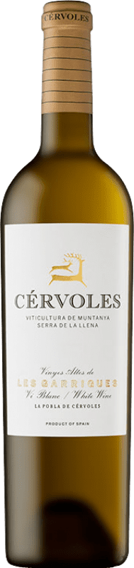19,95 € Free Shipping   White wine Cérvoles Blanc Crianza D.O. Costers del Segre Catalonia Spain Macabeo, Chardonnay Bottle 75 cl