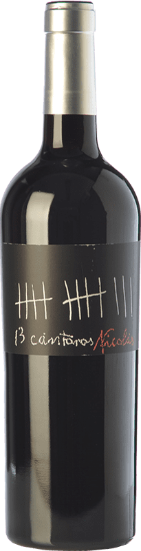 9,95 € Envío gratis | Vino tinto César Príncipe 13 Cántaros Nicolás Joven D.O. Cigales Castilla y León España Tempranillo Botella 75 cl