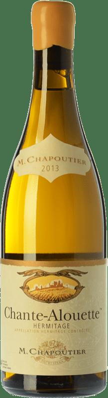 84,95 € Free Shipping | White wine Chapoutier Chante-Alouette A.O.C. Hermitage Rhône France Marsanne Bottle 75 cl