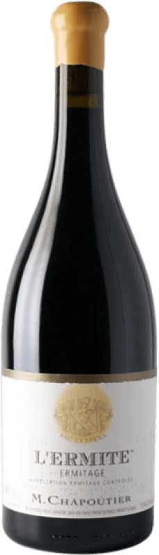 494,95 € | Red wine Chapoutier L'Ermite Rouge Crianza A.O.C. Hermitage Rhône France Syrah Bottle 75 cl