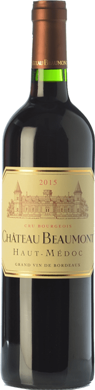 19,95 € | Red wine Château Beaumont Crianza A.O.C. Haut-Médoc Bordeaux France Merlot, Cabernet Sauvignon Bottle 75 cl