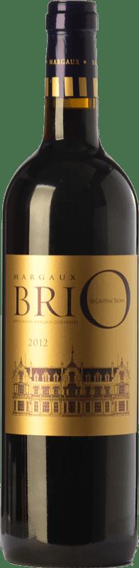 31,95 € | Red wine Château Cantenac-Brown Brio Crianza A.O.C. Margaux Bordeaux France Merlot, Cabernet Sauvignon, Cabernet Franc Bottle 75 cl