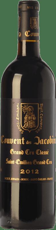 41,95 € Free Shipping   Red wine Château Couvent des Jacobins Crianza A.O.C. Saint-Émilion Grand Cru Bordeaux France Merlot, Cabernet Franc Bottle 75 cl