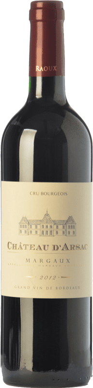 23,95 € Free Shipping   Red wine Château d'Arsac Crianza A.O.C. Margaux Bordeaux France Merlot, Cabernet Sauvignon Bottle 75 cl