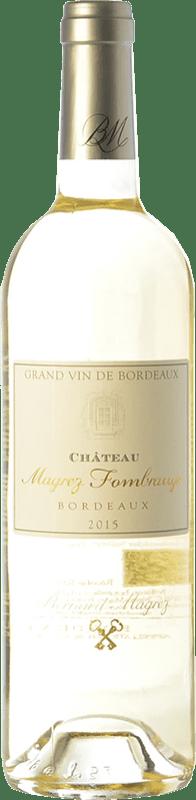 25,95 € | White wine Château Fombrauge Magrez Blanc Crianza A.O.C. Bordeaux Bordeaux France Sauvignon White, Sémillon, Sauvignon Grey Bottle 75 cl