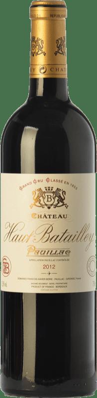 86,95 € Free Shipping   Red wine Château Haut-Batailley Crianza A.O.C. Pauillac Bordeaux France Merlot, Cabernet Sauvignon, Cabernet Franc Bottle 75 cl