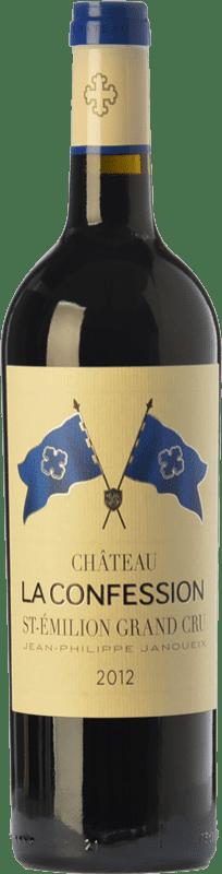 43,95 € Free Shipping | Red wine Château La Confession Crianza A.O.C. Saint-Émilion Grand Cru Bordeaux France Merlot, Cabernet Franc Bottle 75 cl