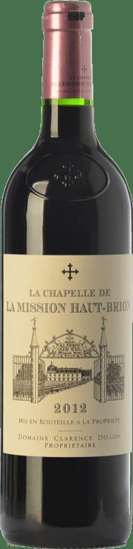 84,95 € Free Shipping | Red wine Château La Mission Haut-Brion La Chapelle Crianza A.O.C. Pessac-Léognan Bordeaux France Merlot, Cabernet Sauvignon, Cabernet Franc Bottle 75 cl