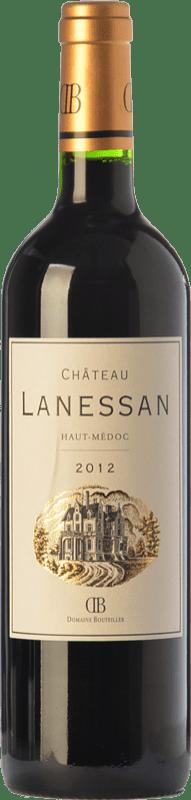 19,95 € Free Shipping | Red wine Château Lanessan Crianza A.O.C. Haut-Médoc Bordeaux France Merlot, Cabernet Sauvignon, Petit Verdot Bottle 75 cl