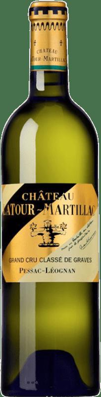47,95 € Envío gratis | Vino blanco Château Latour-Martillac Blanc Crianza A.O.C. Pessac-Léognan Burdeos Francia Sauvignon Blanca, Sémillon Botella 75 cl
