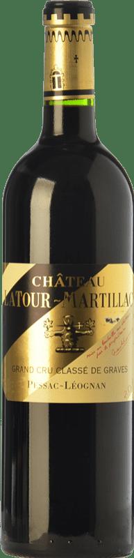 45,95 € Envío gratis | Vino tinto Château Latour-Martillac Reserva A.O.C. Pessac-Léognan Burdeos Francia Merlot, Cabernet Sauvignon, Malbec Botella 75 cl