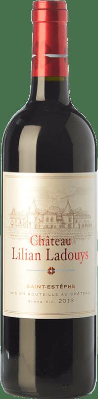 21,95 € Envoi gratuit | Vin rouge Château Lilian-Ladouys Crianza A.O.C. Saint-Estèphe Bordeaux France Merlot, Cabernet Sauvignon, Cabernet Franc, Petit Verdot Bouteille 75 cl