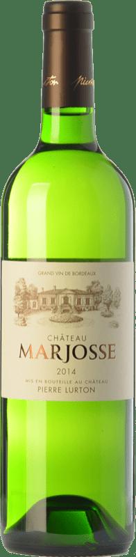 9,95 € Free Shipping   White wine Château Marjosse Blanc Bordeaux Crianza A.O.C. Entre-deux-Mers Bordeaux France Sauvignon White, Sémillon, Muscadelle, Sauvignon Grey Bottle 75 cl