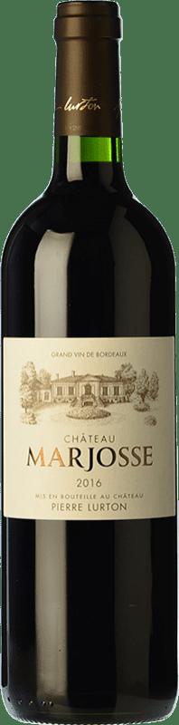 14,95 € Free Shipping   Red wine Château Marjosse Crianza A.O.C. Bordeaux Bordeaux France Merlot, Cabernet Sauvignon, Cabernet Franc, Malbec Bottle 75 cl