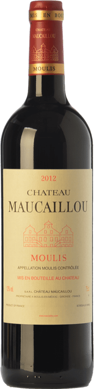 35,95 € Free Shipping | Red wine Château Maucaillou Crianza A.O.C. Moulis-en-Médoc Bordeaux France Merlot, Cabernet Sauvignon, Petit Verdot Bottle 75 cl
