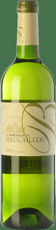8,95 € Free Shipping | White wine Château Maucaillou A.O.C. Bordeaux Bordeaux France Sauvignon White Bottle 75 cl