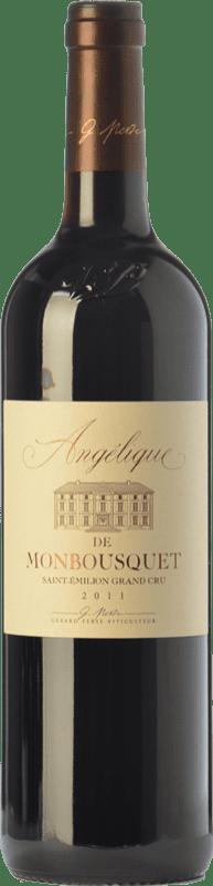 19,95 € Free Shipping   Red wine Château Monbousquet Angélique Crianza A.O.C. Saint-Émilion Grand Cru Bordeaux France Merlot, Cabernet Sauvignon, Cabernet Franc Bottle 75 cl