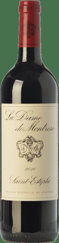 41,95 € Envío gratis | Vino tinto Château Montrose La Dame Crianza A.O.C. Saint-Estèphe Burdeos Francia Merlot, Cabernet Sauvignon Botella 75 cl