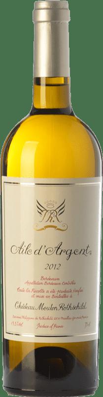 White wine Château Mouton-Rothschild Aile d'Argent Crianza A.O.C. Bordeaux Bordeaux France Sauvignon White, Sémillon, Muscadelle Bottle 75 cl