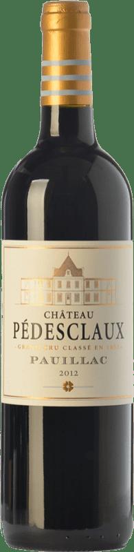 59,95 € | Red wine Château Pédesclaux Crianza A.O.C. Pauillac Bordeaux France Merlot, Cabernet Sauvignon, Cabernet Franc Bottle 75 cl