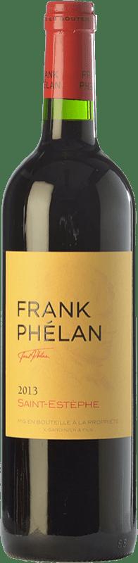 28,95 € Free Shipping | Red wine Château Phélan Ségur Frank Crianza A.O.C. Saint-Estèphe Bordeaux France Merlot, Cabernet Sauvignon Bottle 75 cl