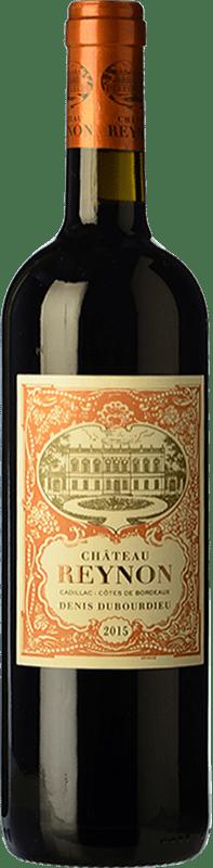 15,95 € Free Shipping | Red wine Château Reynon Crianza A.O.C. Cadillac Bordeaux France Merlot, Cabernet Sauvignon, Petit Verdot Bottle 75 cl