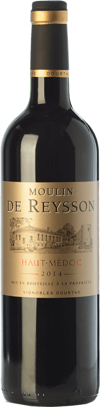 8,95 € | Red wine Château Reysson Moulin Crianza A.O.C. Haut-Médoc Bordeaux France Merlot Bottle 75 cl