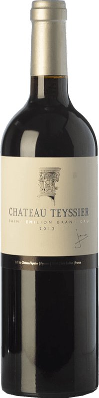 19,95 € | Red wine Château Teyssier Crianza A.O.C. Saint-Émilion Grand Cru Bordeaux France Merlot, Cabernet Franc Bottle 75 cl