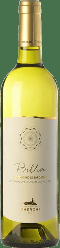 11,95 € Free Shipping | White wine Cherchi Billia D.O.C. Vermentino di Sardegna Sardegna Italy Vermentino Bottle 75 cl