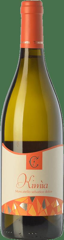 14,95 € Free Shipping | Sweet wine Chiaromonte Kimìa I.G.T. Puglia Puglia Italy Moscatello Selvatico Bottle 75 cl