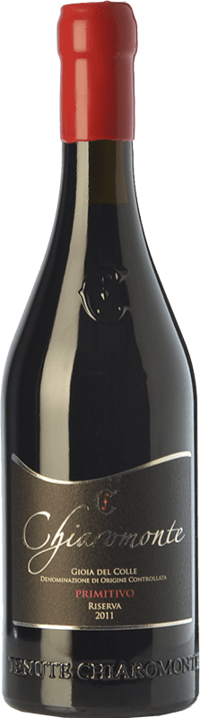 112,95 € Free Shipping | Red wine Chiaromonte Riserva Reserva D.O.C. Gioia del Colle Puglia Italy Primitivo Bottle 75 cl