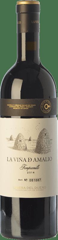 51,95 € Free Shipping | Red wine Cillar de Silos La Viña de Amalio Crianza D.O. Ribera del Duero Castilla y León Spain Tempranillo Bottle 75 cl