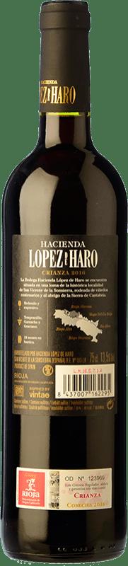 8,95 € Free Shipping   Red wine Classica Hacienda López de Haro Crianza D.O.Ca. Rioja The Rioja Spain Tempranillo, Grenache, Graciano Magnum Bottle 1,5 L