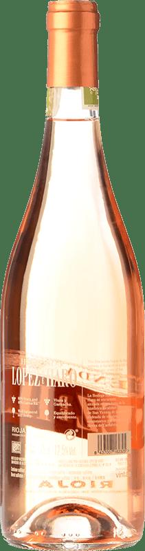 8,95 € Free Shipping   Rosé wine Classica Hacienda López de Haro Joven D.O.Ca. Rioja The Rioja Spain Tempranillo, Grenache Bottle 75 cl