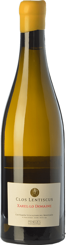 36,95 € | White wine Clos Lentiscus Domaine Crianza D.O. Penedès Catalonia Spain Xarel·lo Bottle 75 cl
