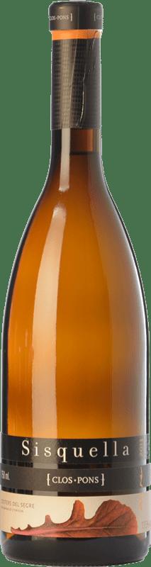 15,95 € | White wine Clos Pons Sisquella Crianza D.O. Costers del Segre Catalonia Spain Grenache White, Muscat of Alexandria, Albariño Bottle 75 cl