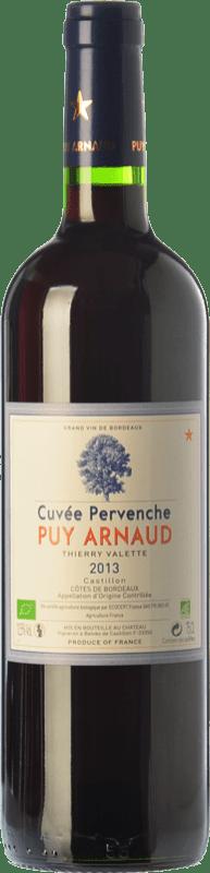 15,95 € | Red wine Clos Puy Arnaud Cuvée Pervenche Joven A.O.C. Côtes de Castillon Bordeaux France Merlot, Cabernet Franc Bottle 75 cl