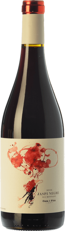 9,95 € Free Shipping | Red wine Coca i Fitó Jaspi Negre Joven D.O. Montsant Catalonia Spain Syrah, Grenache, Cabernet Sauvignon, Carignan Bottle 75 cl