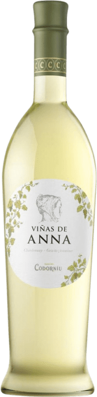 8,95 € 免费送货   白酒 Codorníu Viñas de Anna Blanc de Blancs Crianza D.O. Catalunya 加泰罗尼亚 西班牙 Muscatel, Chardonnay 瓶子 75 cl
