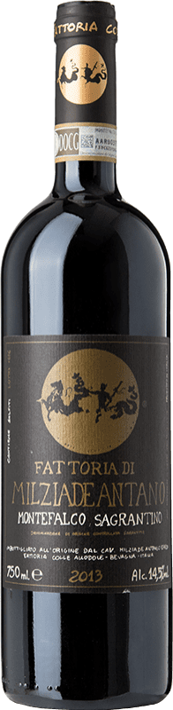 38,95 € Free Shipping | Red wine Colleallodole D.O.C.G. Sagrantino di Montefalco Umbria Italy Sagrantino Bottle 75 cl