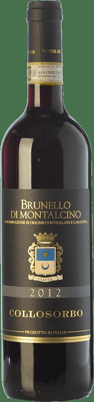 44,95 € | Red wine Collosorbo D.O.C.G. Brunello di Montalcino Tuscany Italy Sangiovese Bottle 75 cl