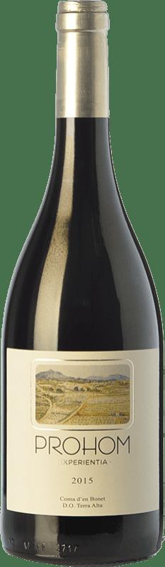 11,95 € | Red wine Coma d'en Bonet Prohom Experientia Negre Crianza D.O. Terra Alta Catalonia Spain Syrah, Grenache, Cabernet Sauvignon, Carignan Bottle 75 cl