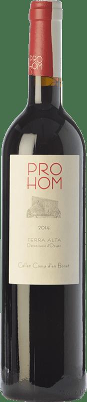 7,95 € | Red wine Coma d'en Bonet Prohom Negre Joven D.O. Terra Alta Catalonia Spain Syrah, Grenache, Cabernet Sauvignon Bottle 75 cl
