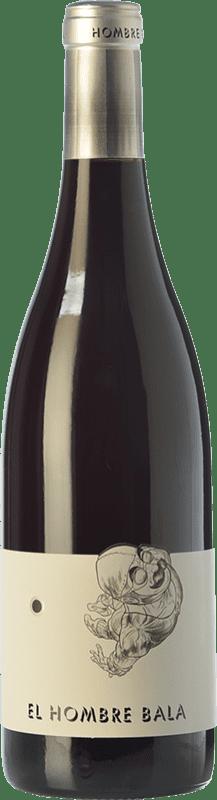 16,95 € 免费送货 | 红酒 Comando G El Hombre Bala Joven D.O. Vinos de Madrid 马德里社区 西班牙 Grenache 瓶子 75 cl
