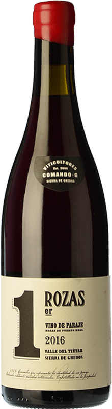34,95 € | Red wine Comando G Rozas 1er Crianza D.O. Vinos de Madrid Madrid's community Spain Grenache Bottle 75 cl