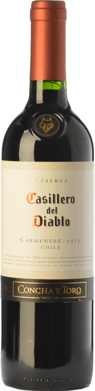 8,95 € | Red wine Concha y Toro Casillero del Diablo Crianza I.G. Valle Central Central Valley Chile Carmenère Bottle 75 cl