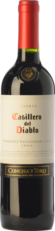 8,95 € | Red wine Concha y Toro Casillero del Diablo Crianza I.G. Valle Central Central Valley Chile Cabernet Sauvignon Bottle 75 cl