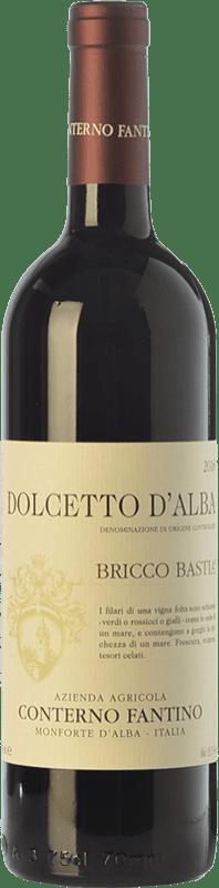 13,95 € | Red wine Conterno Fantino Bricco Bastia D.O.C.G. Dolcetto d'Alba Piemonte Italy Dolcetto Bottle 75 cl